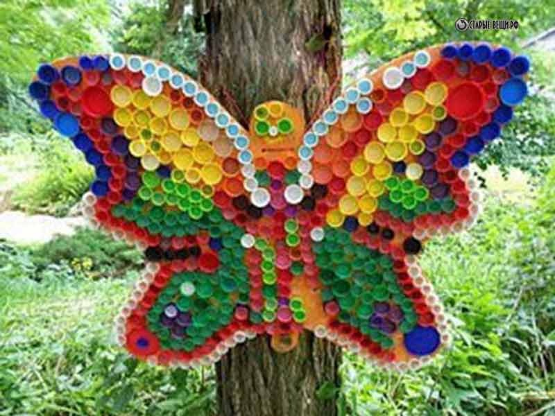 Бабочка в огород своими руками