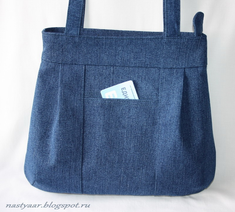 Сшить сумку из джинсов мастер класс для девочки