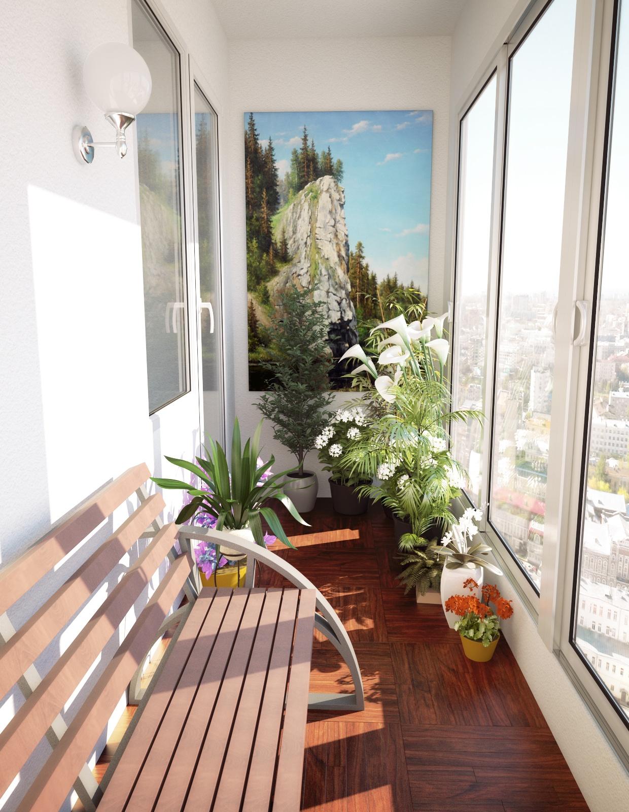 Оформление лоджий и балконов в квартире своими руками. совет.