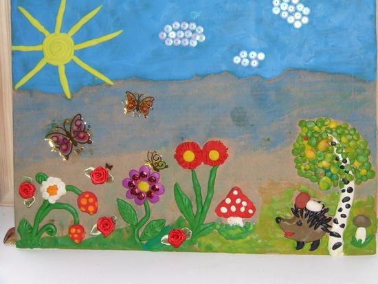 Поделки летом в детском саду