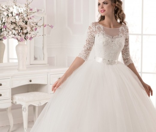 Очень пышные свадебные платья 2017 года каталог