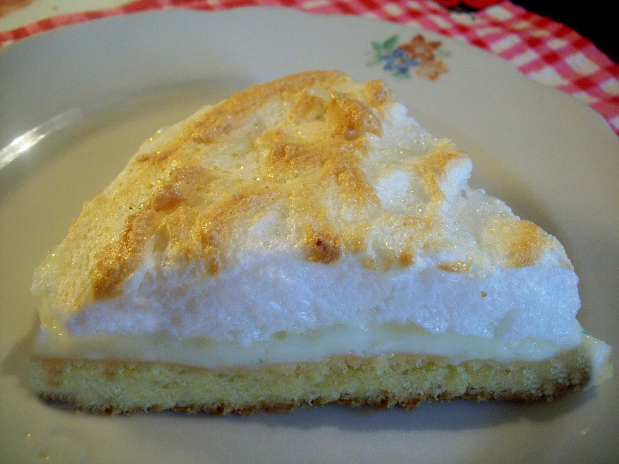 Рецепт пирог песочный с безе рецепт