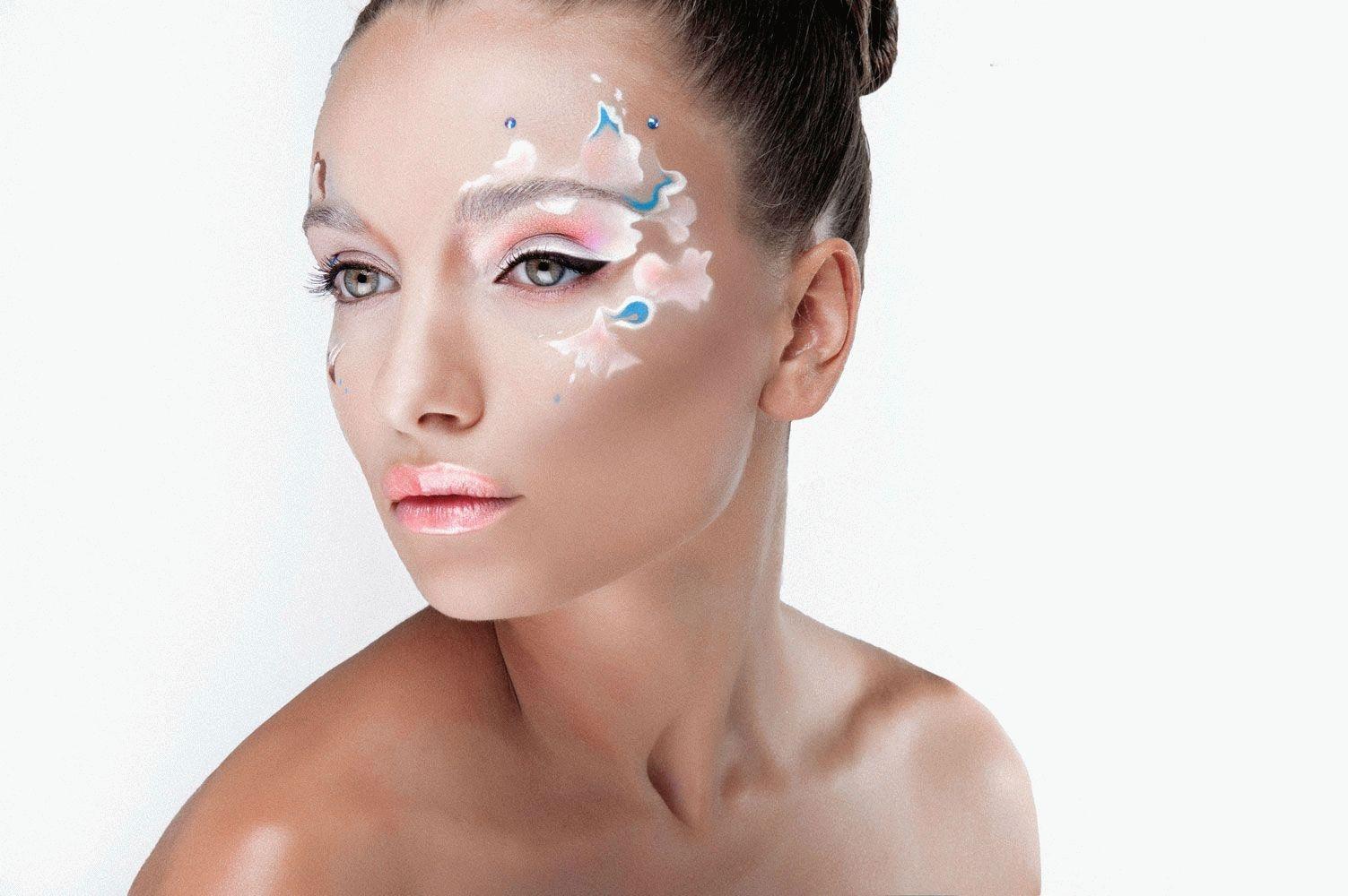 Тема для фантазийного макияжа