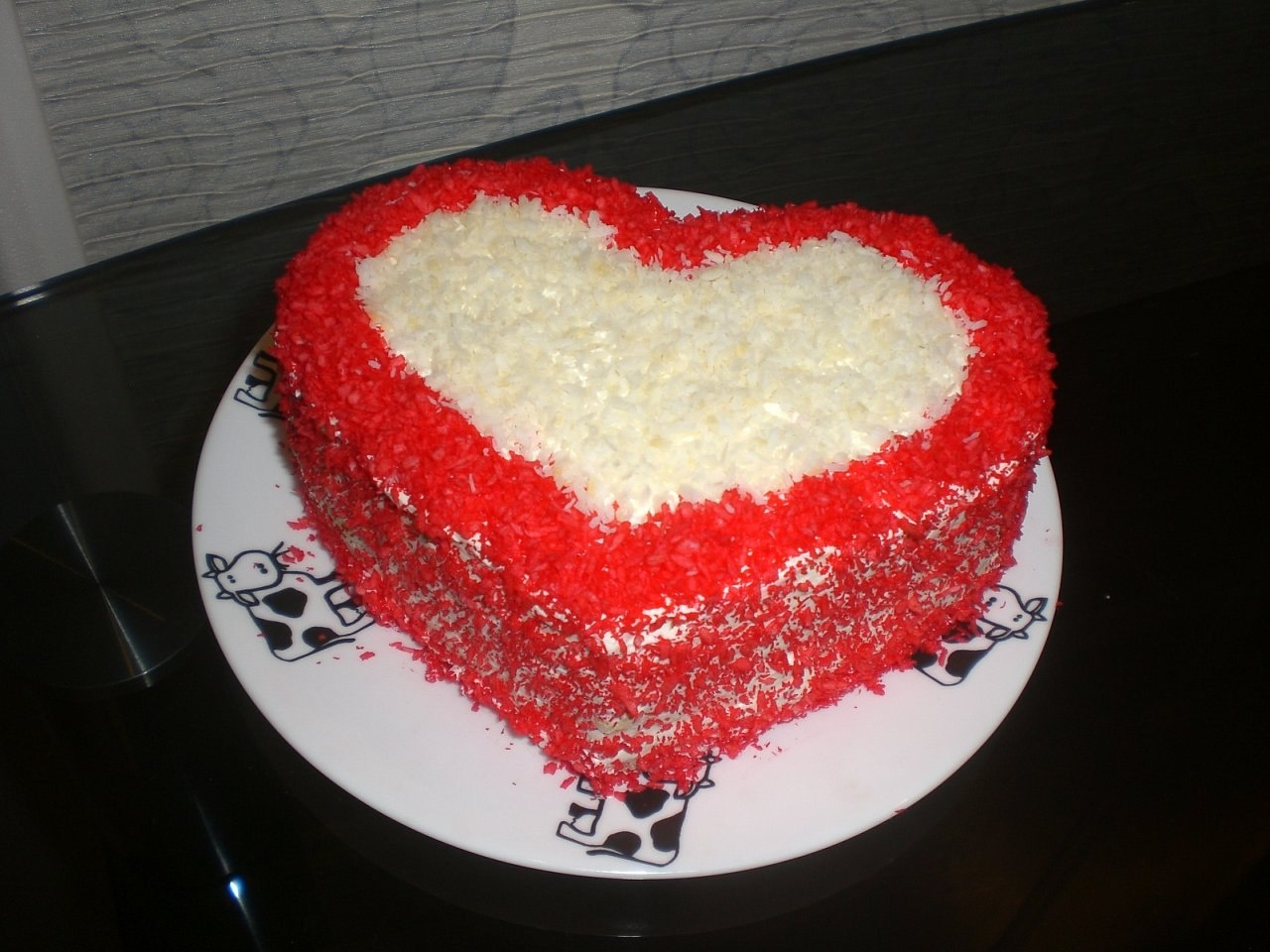 Торт в виде сердца своими руками рецепты с