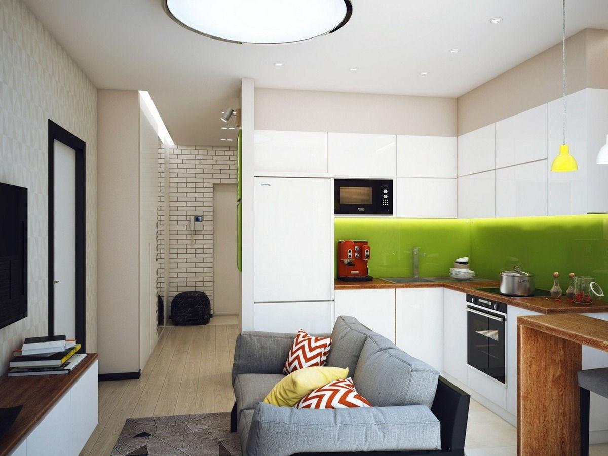 Дизайн кухни 14 кв.м 2017-2018 современные