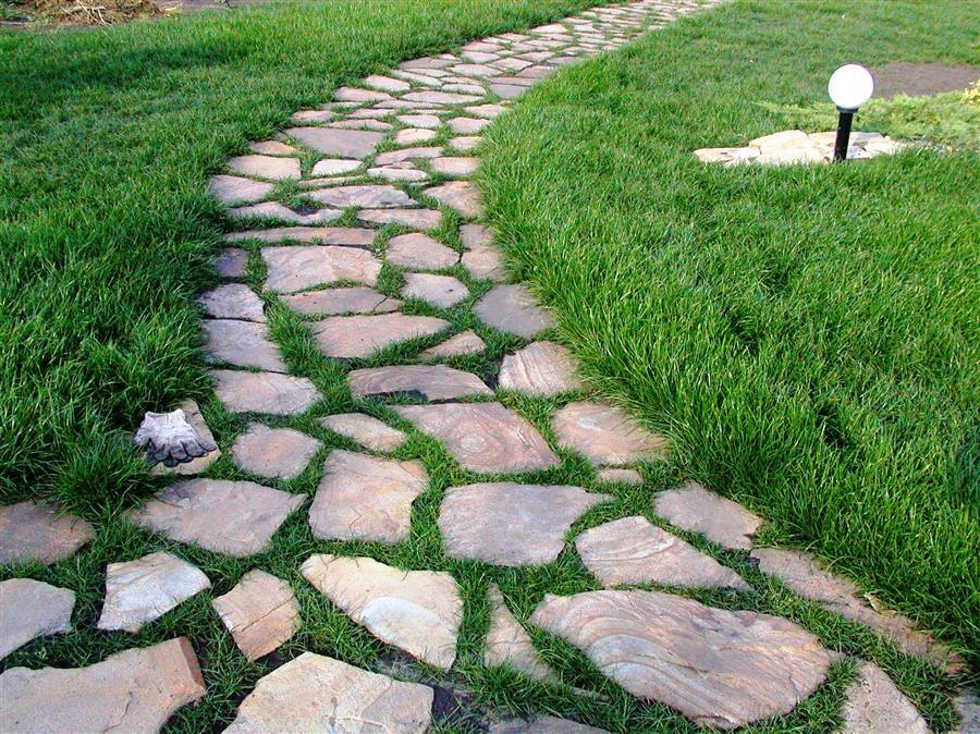 Как сделать дорожки на даче из камней