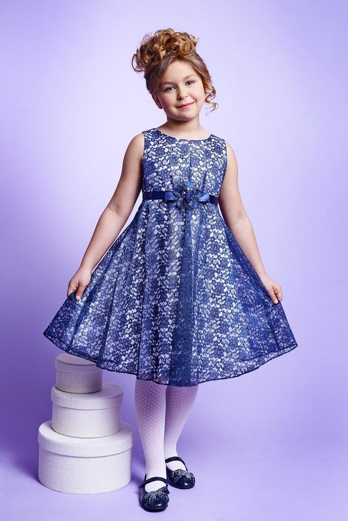 Фото платьев с кружевом для девочек