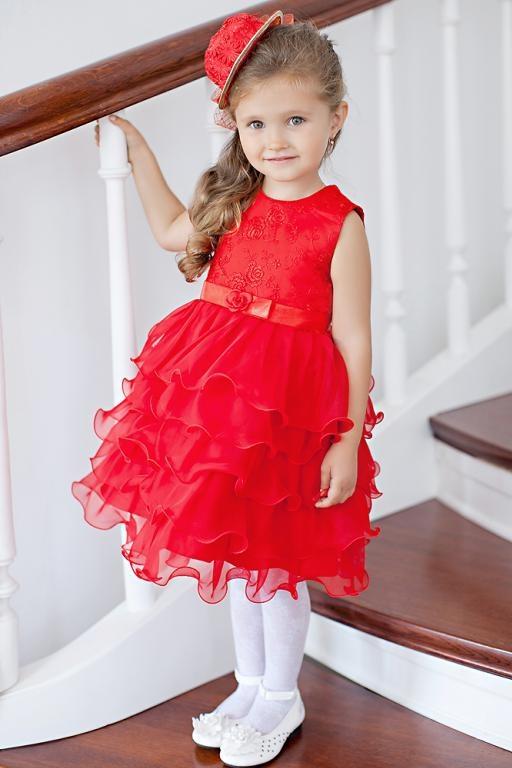 Детские платья для девочек нарядные на 3
