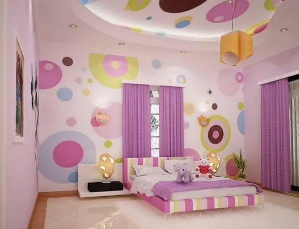 Украшения комнаты для девочки