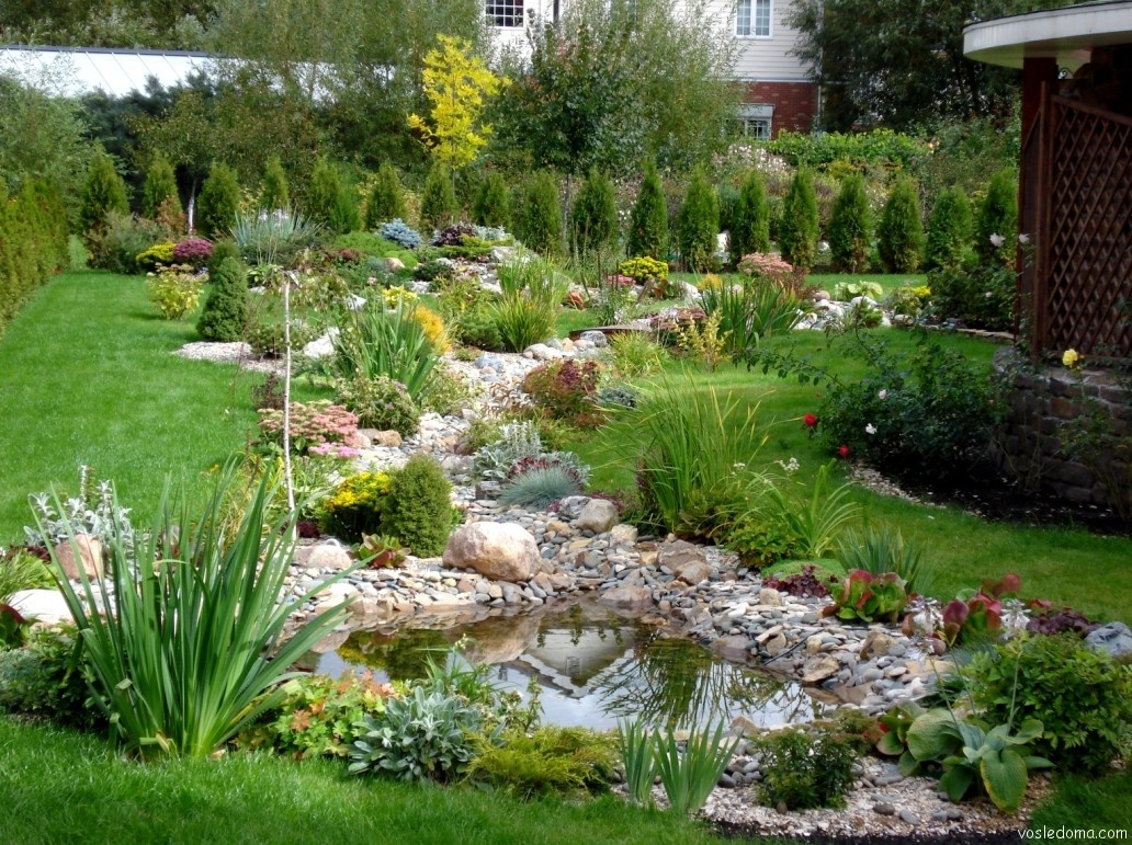 Садово огородный участок дизайн