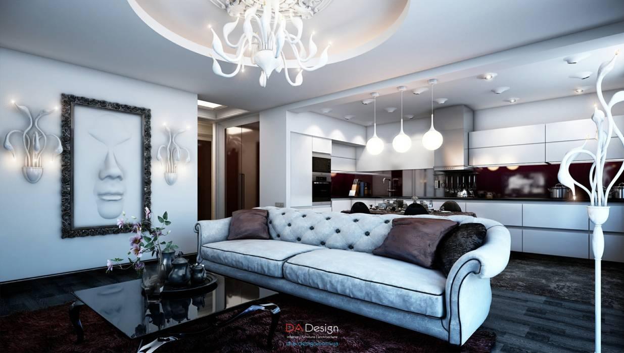 Гостиной дизайн гламур