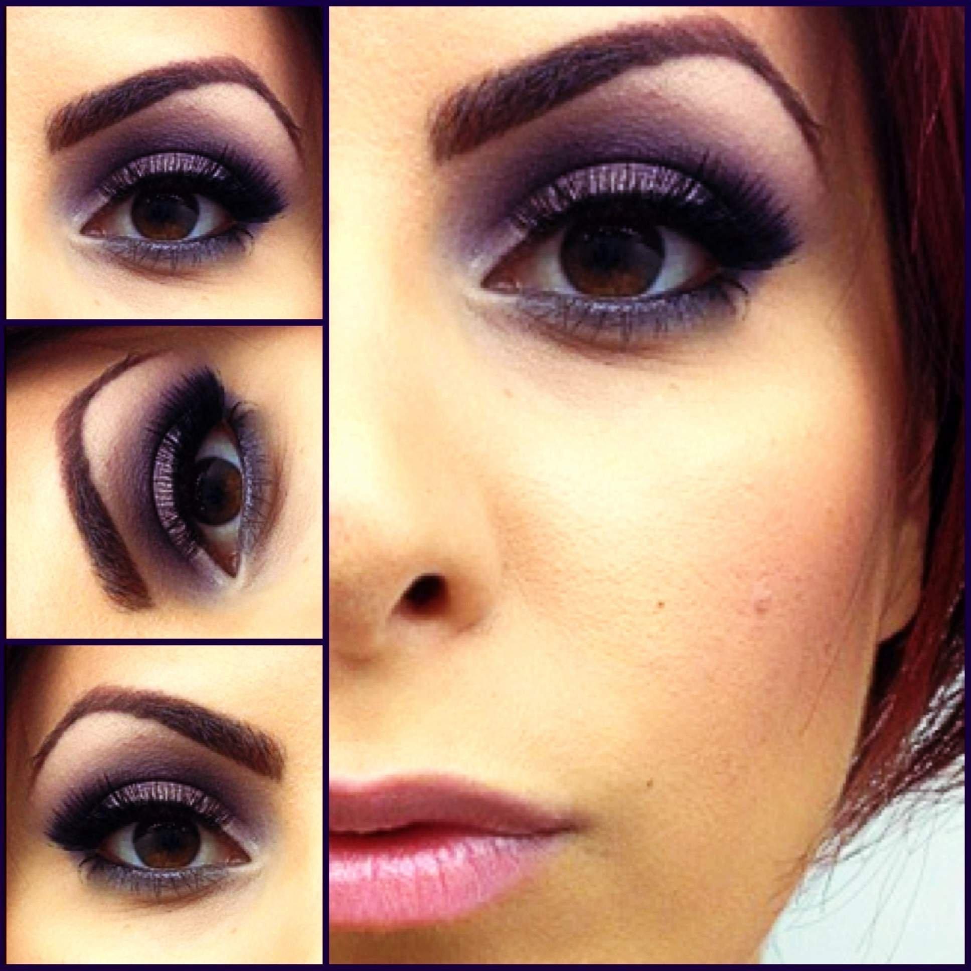 Красивые свадебные макияжи для карих глаз