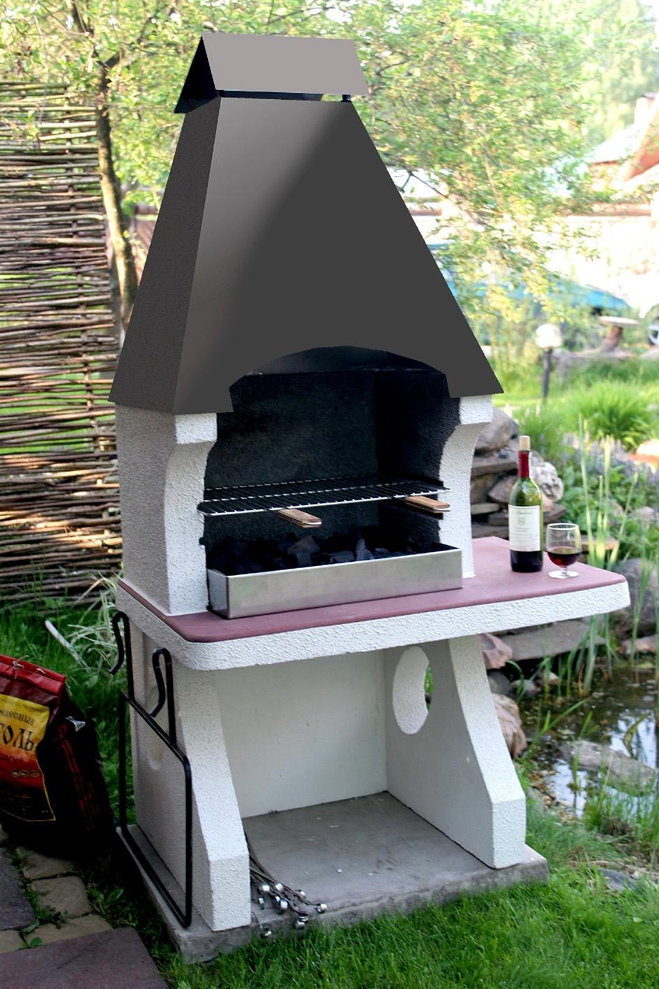 Садовая печь маленькая