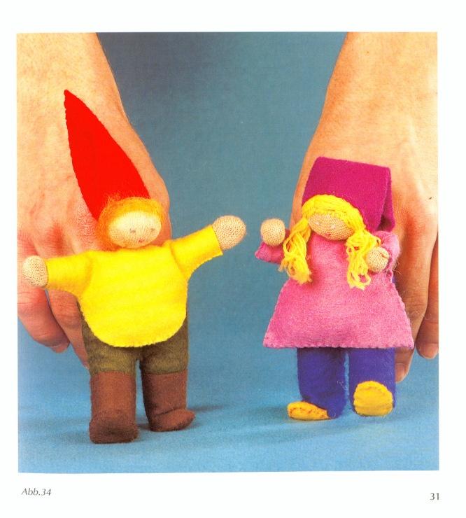 Как сделать куклу пальчиковую своими руками