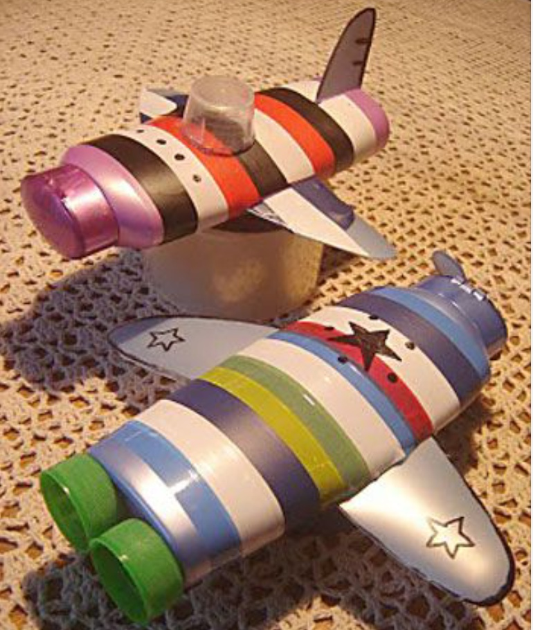 Поделки с подручных материалов своими руками для детей
