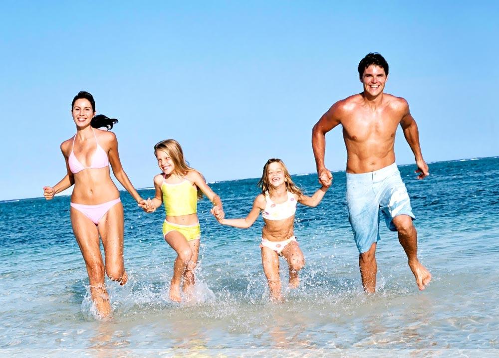 семейные нудисты на пляже фото № 193233  скачать