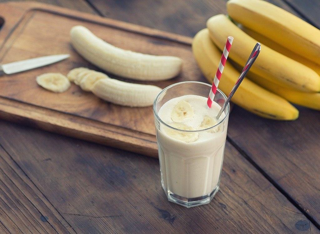 Рецепт банан яйца молоко
