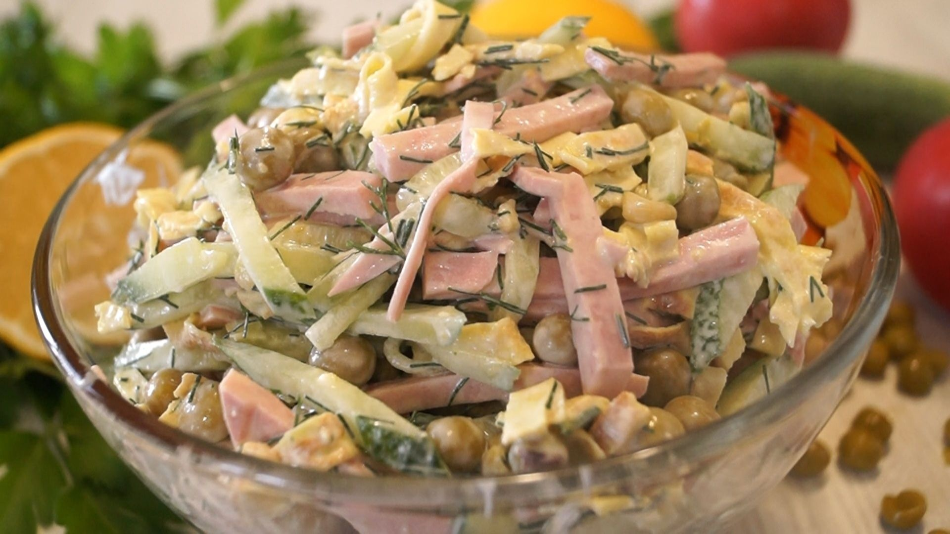 Вкусные быстрые и простые салаты рецепты простые и вкусные