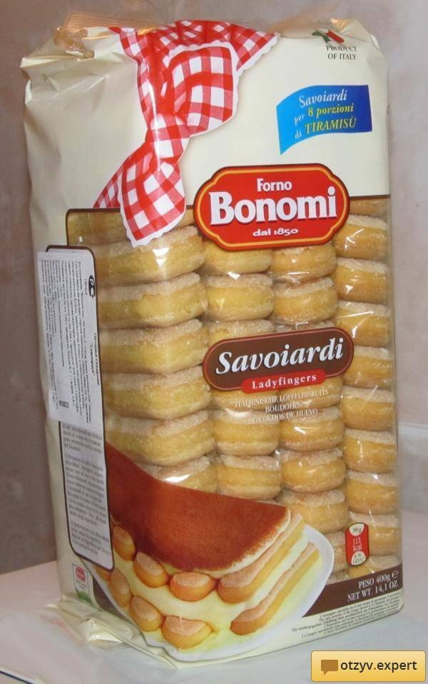 Как сделать печенье с савоярди