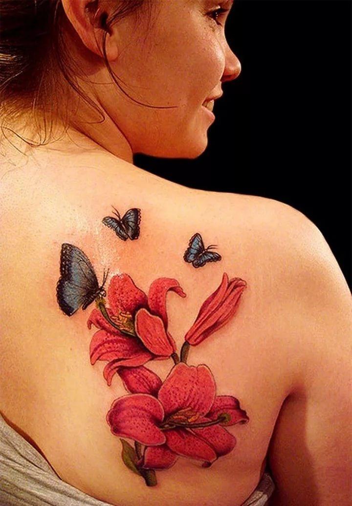 Фото татуировок цветов