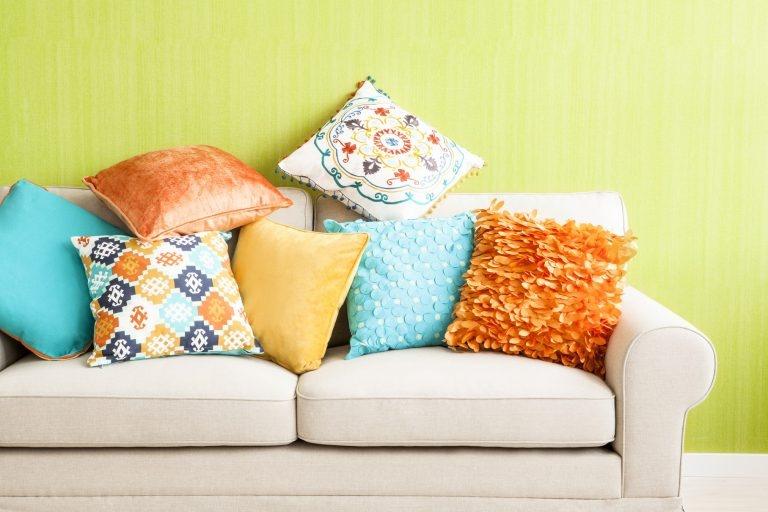 Подушки для дивана своими руками инструкции