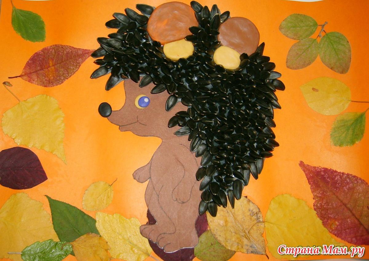 Осенняя поделка своими руками фото в школу