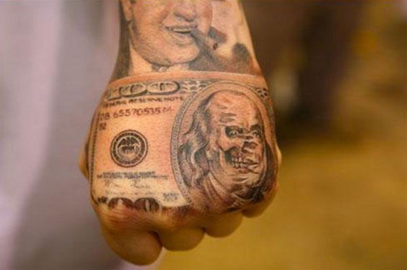Фото тату приносящие деньги и удачу