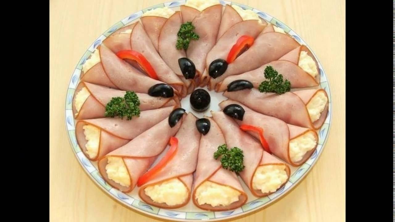 Идеи закусок на праздничный стол с
