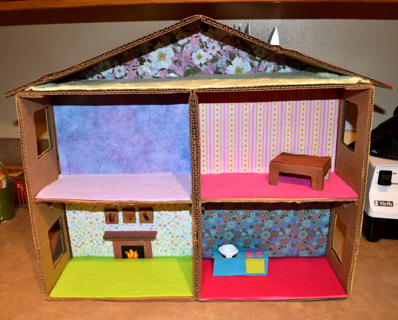 Кукольные домики своими руками в картинках