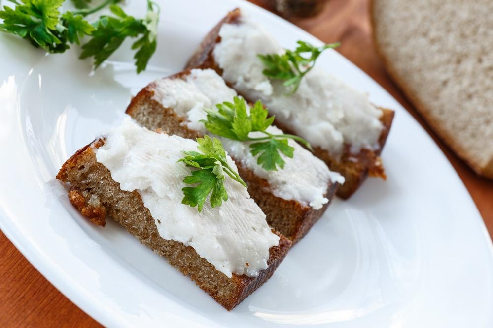 Сало крученое с чесноком рецепт с пошагово