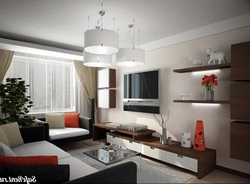 Дизайн гостиной 16 м2