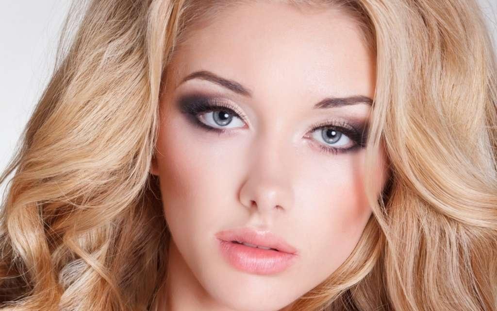 Фото макияжа светлых глаз