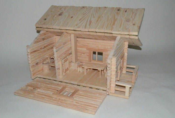 Домик для барби из ламината