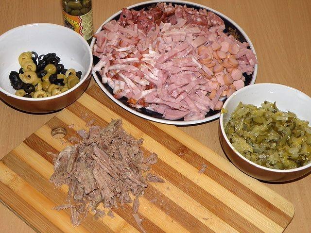 Рецепт мясной солянки пошагово