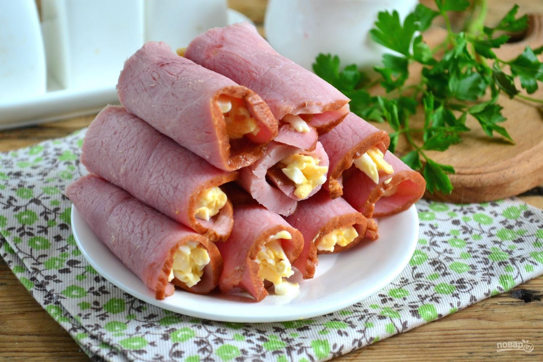 Закуски рулетики рецепт с пошагово