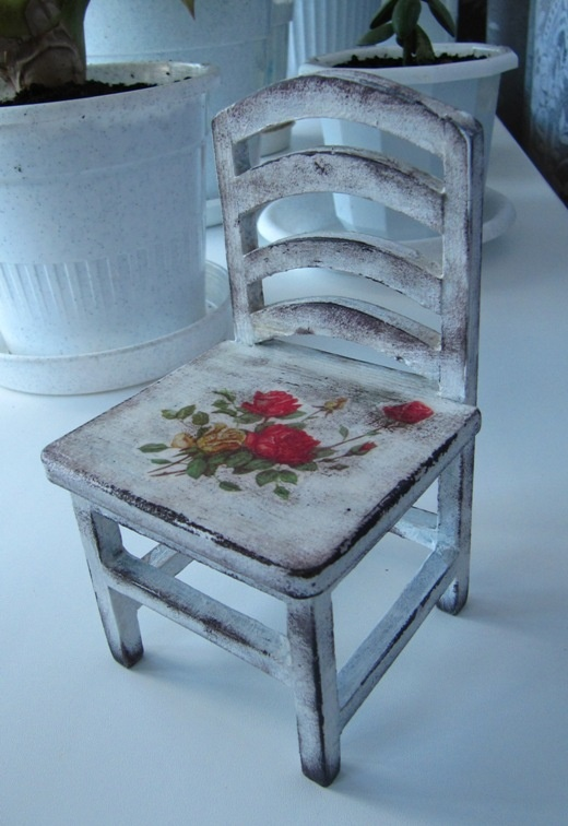 Декупаж стульев для начинающих пошагово с фото