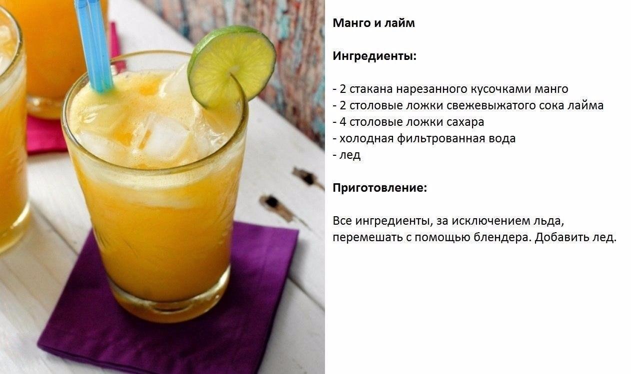Безалкогольные домашние напитки рецепт