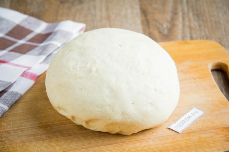 Тесто для пиццы пошаговое без дрожжей