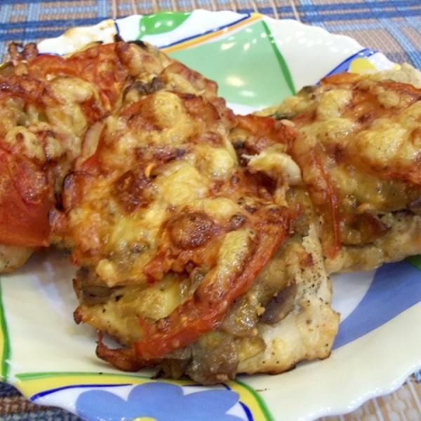 Как из курицы сделать мясо по-французски