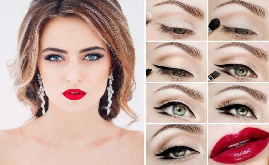 Как сделать красиво макияж в домашних условиях