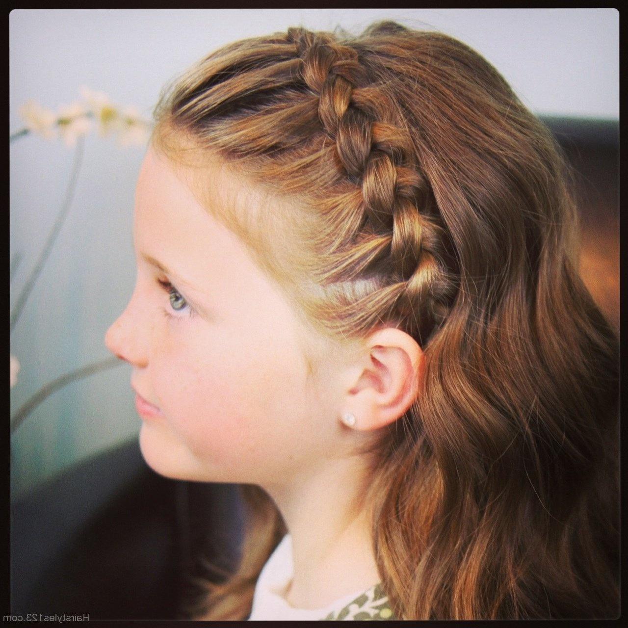 Причёска в школу девочке на короткие волосы