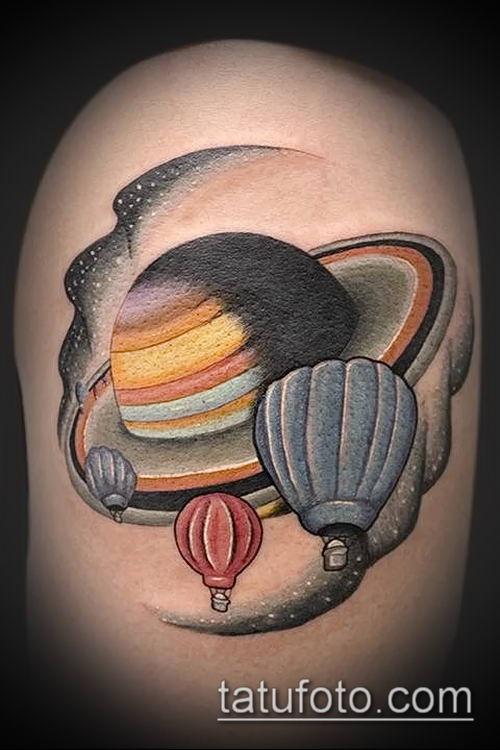 Фото сатурн тату