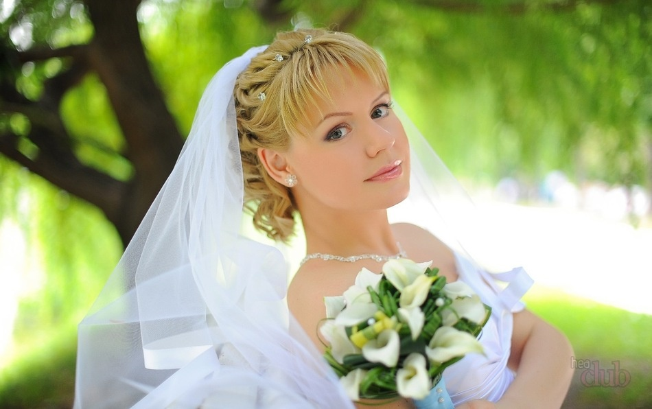 Фото свадебная стрижка