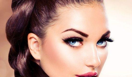 Как делать макияж с нарощенными ресницами