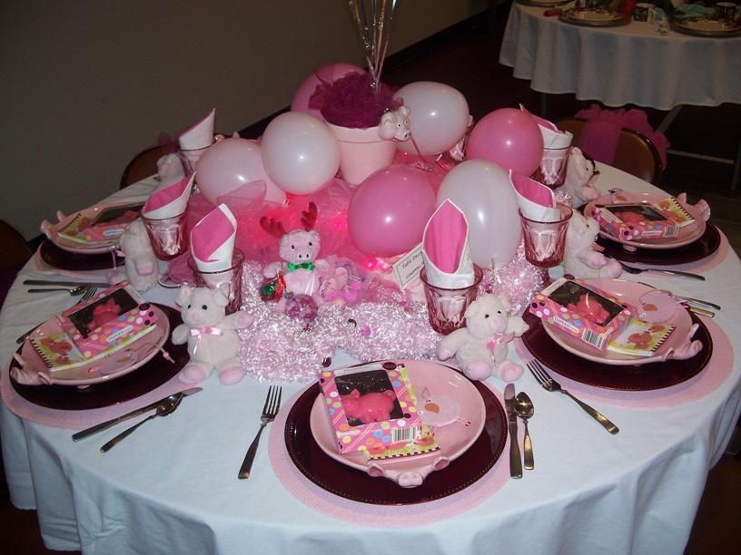 Украшения стола на день рождения ребенка