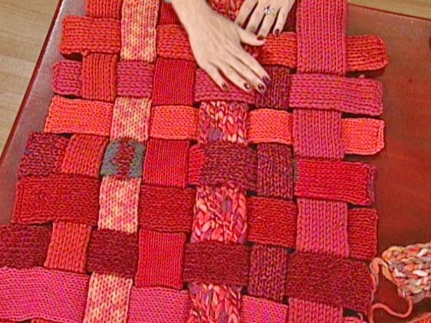 Оригинальные коврики своими руками