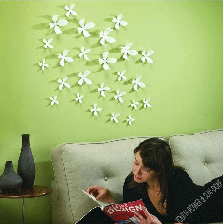 Идеи декора стен своими руками фото