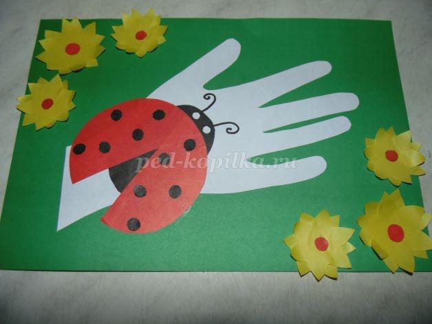 Поделки для детей 5-6 лет из цветной бумаги