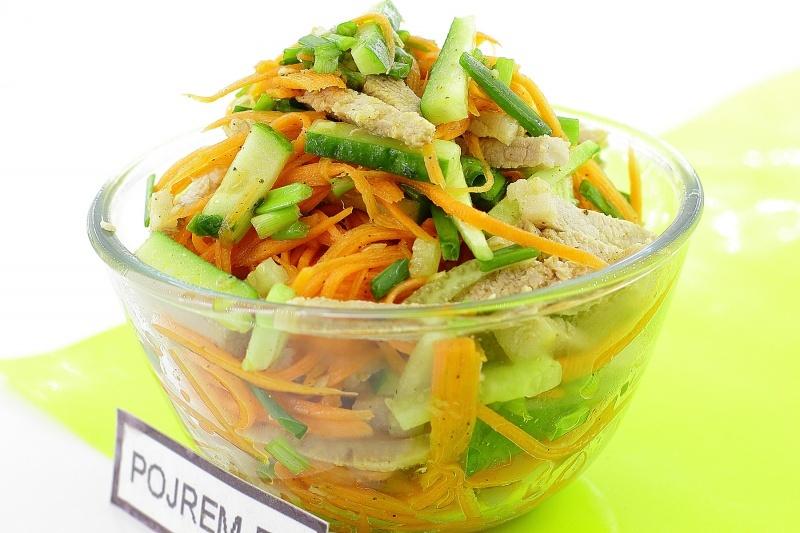 Салаты из корейской моркови рецепты простые и вкусные