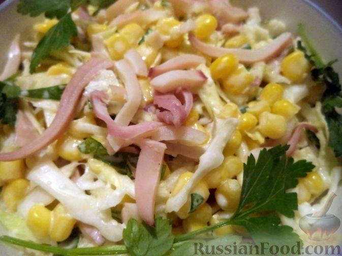 Салаты с кальмаром на день рождения простые и вкусные рецепты